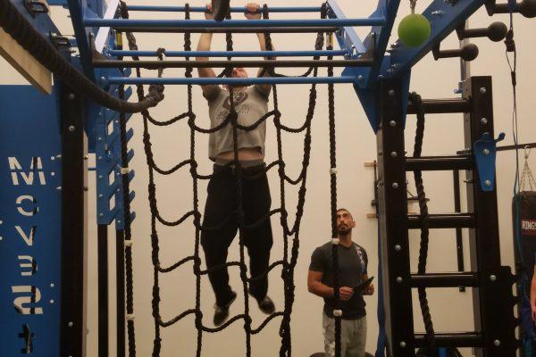 Big Blue ropes