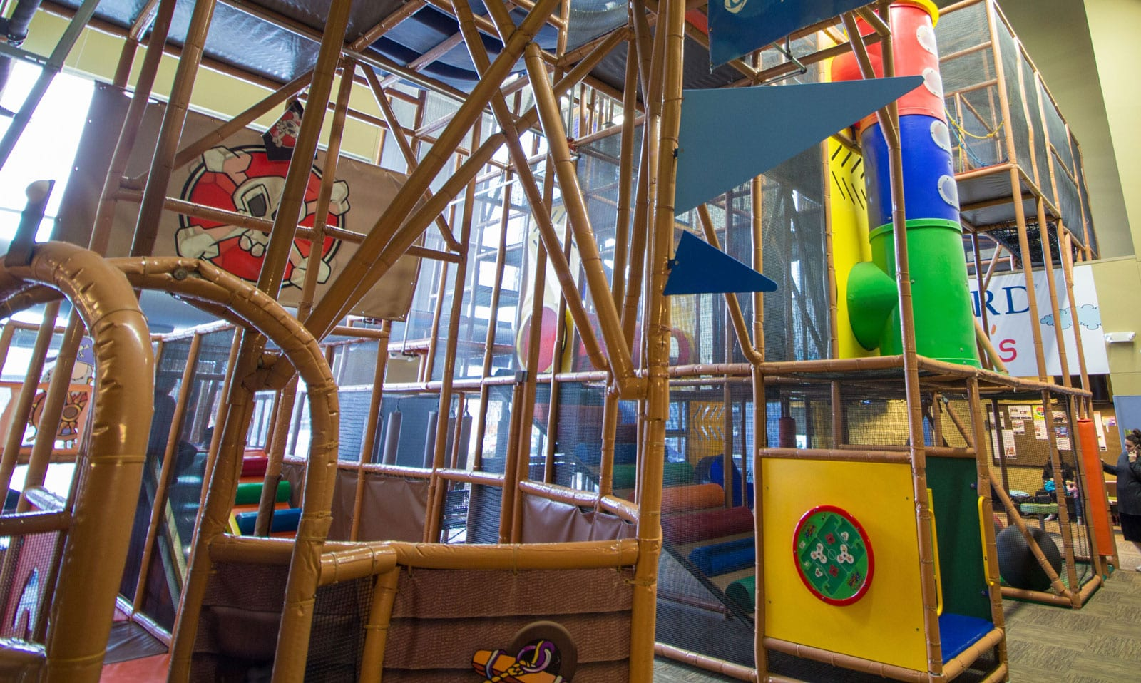 Our Indoor Playground Is    Re-Opening!
